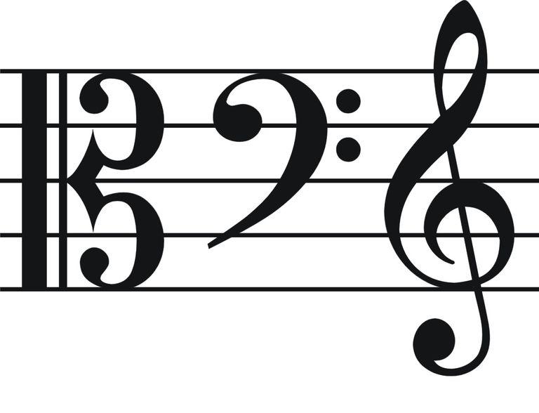 انواع کلیدهای موسیقی