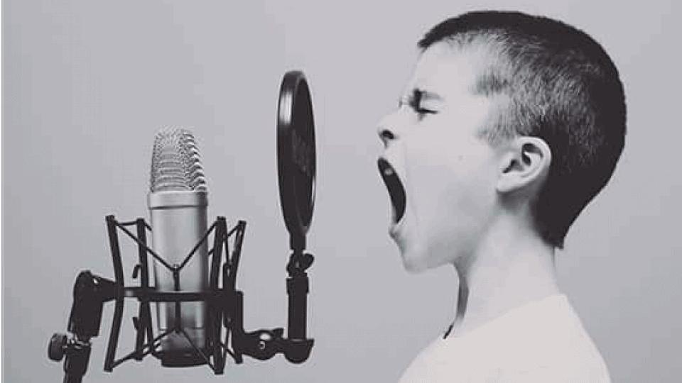 تقویت صدا برای خوانندگی