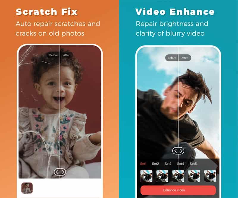 بهبود کیفیت عکسها با برنامه Remini قابل نصب بر روی گوشیهای همراه