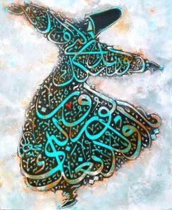 نمونهای از نقاشیخط