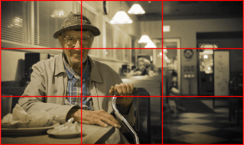 کادربندی خوب در عکاسی پرتره با موبایل، کیفیت عکس را افزایش میدهد