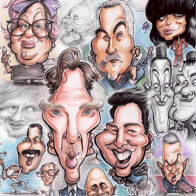 اصول طراحی کاریکاتور چهره