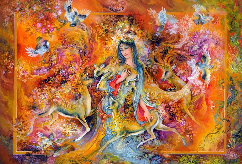 نقاشی میناتور ایرانی