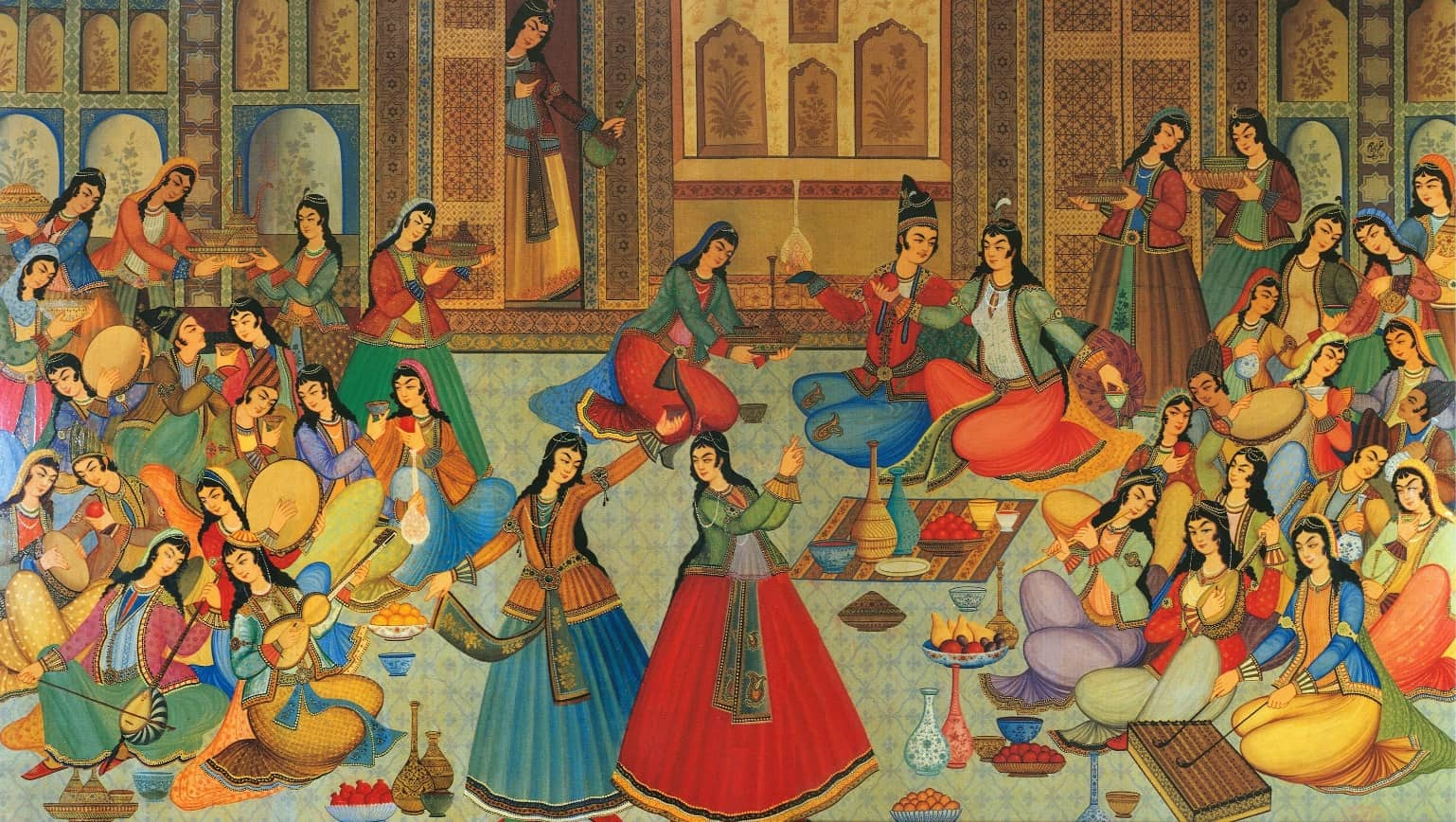 از سری نقاشیهای ایرانی مینیاتور