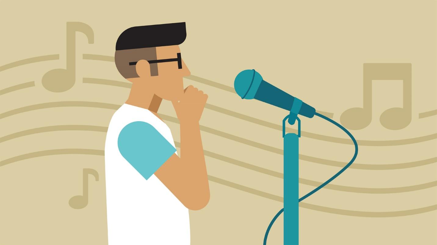 راههای تقویت صدا و تبدیل شدن به یک خواننده پاپ