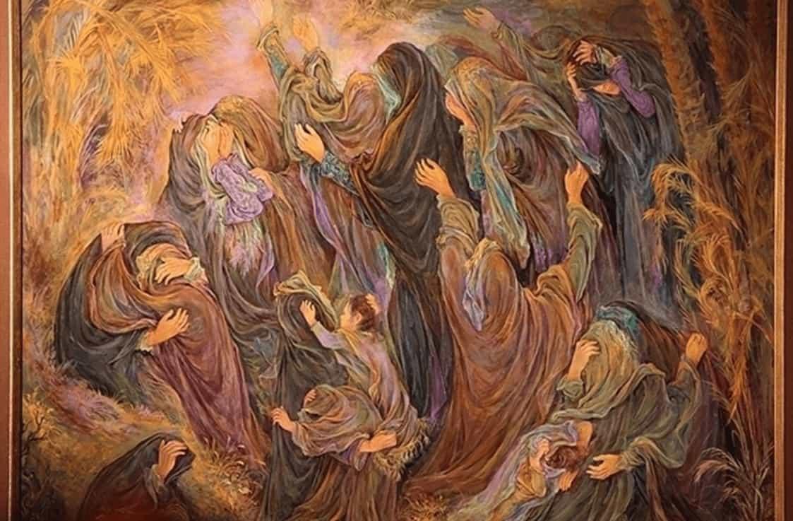 نقاشی مینیاتور ایرانی با داستانهای مذهبی گره خورده است