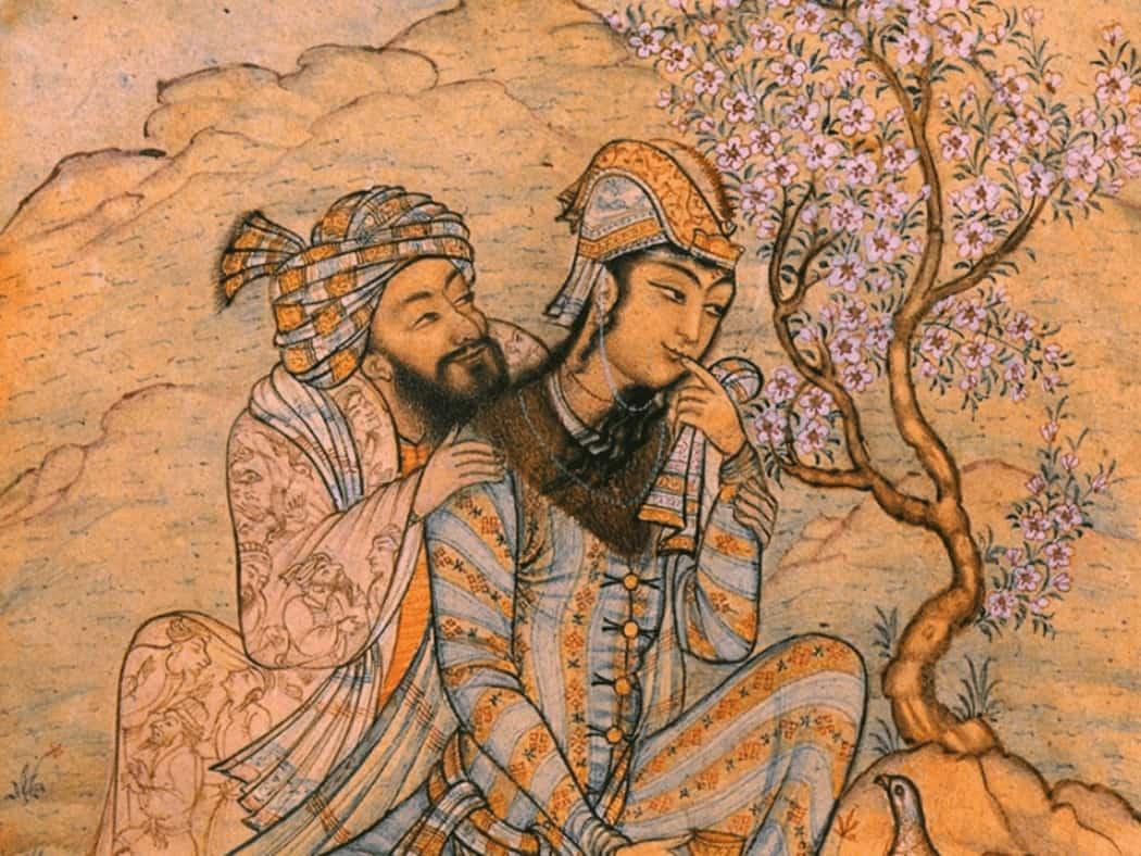 یوند مینیاتور ایرانی با اشعار شاعرانی چون حافظ، سعدی، نظامی و فردوسی