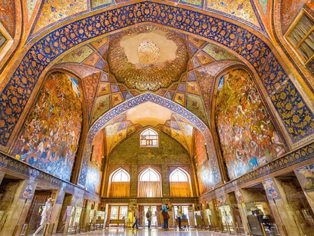 اصفهان، تجلی تلفیق مینیاتور ایرانی با معماری